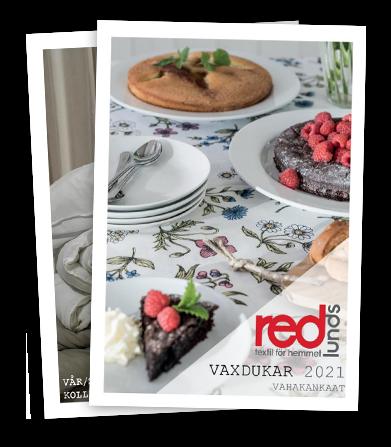 Redlunds katalog vaxdukar och textil